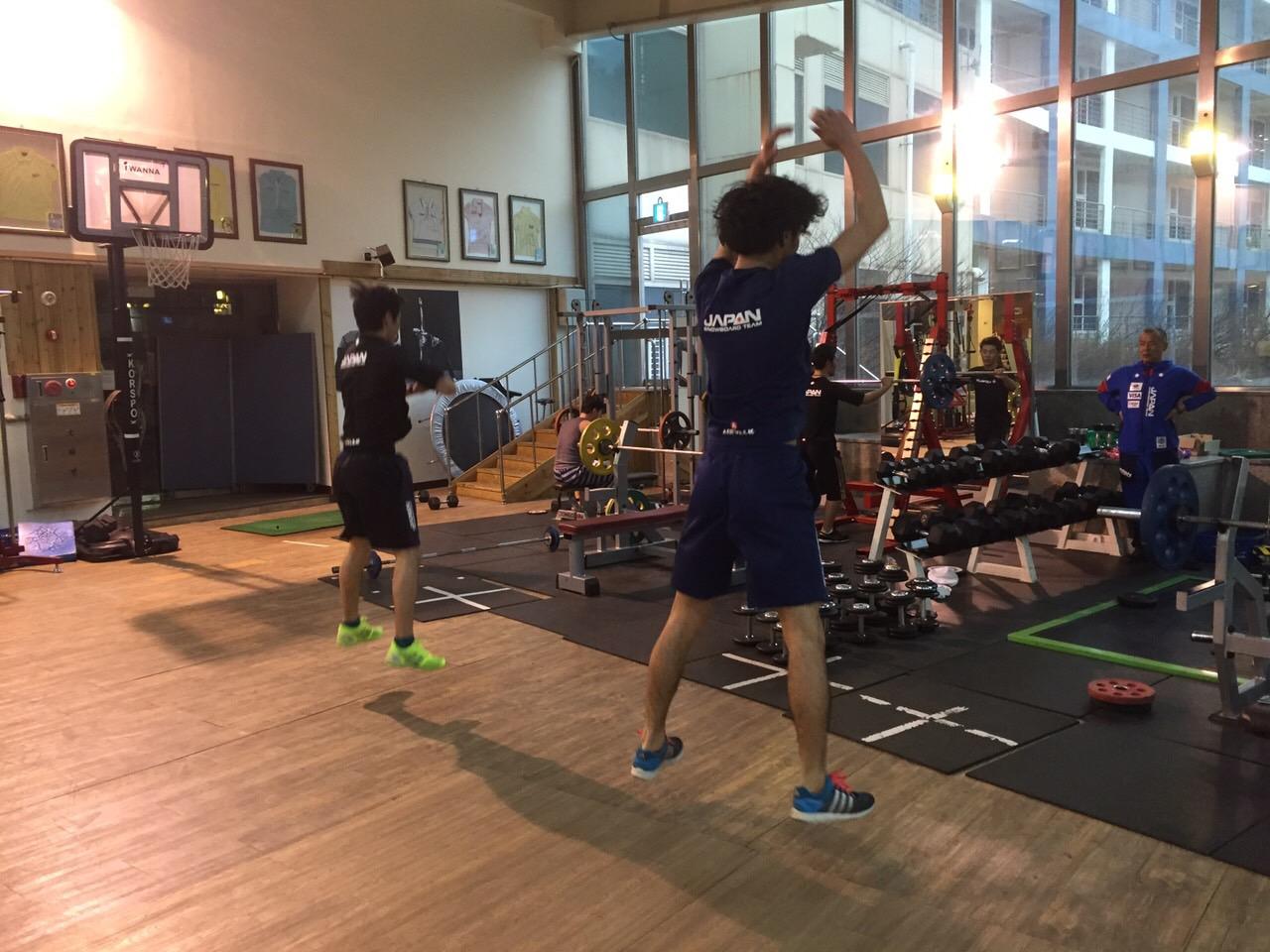 トレーニングの様子2