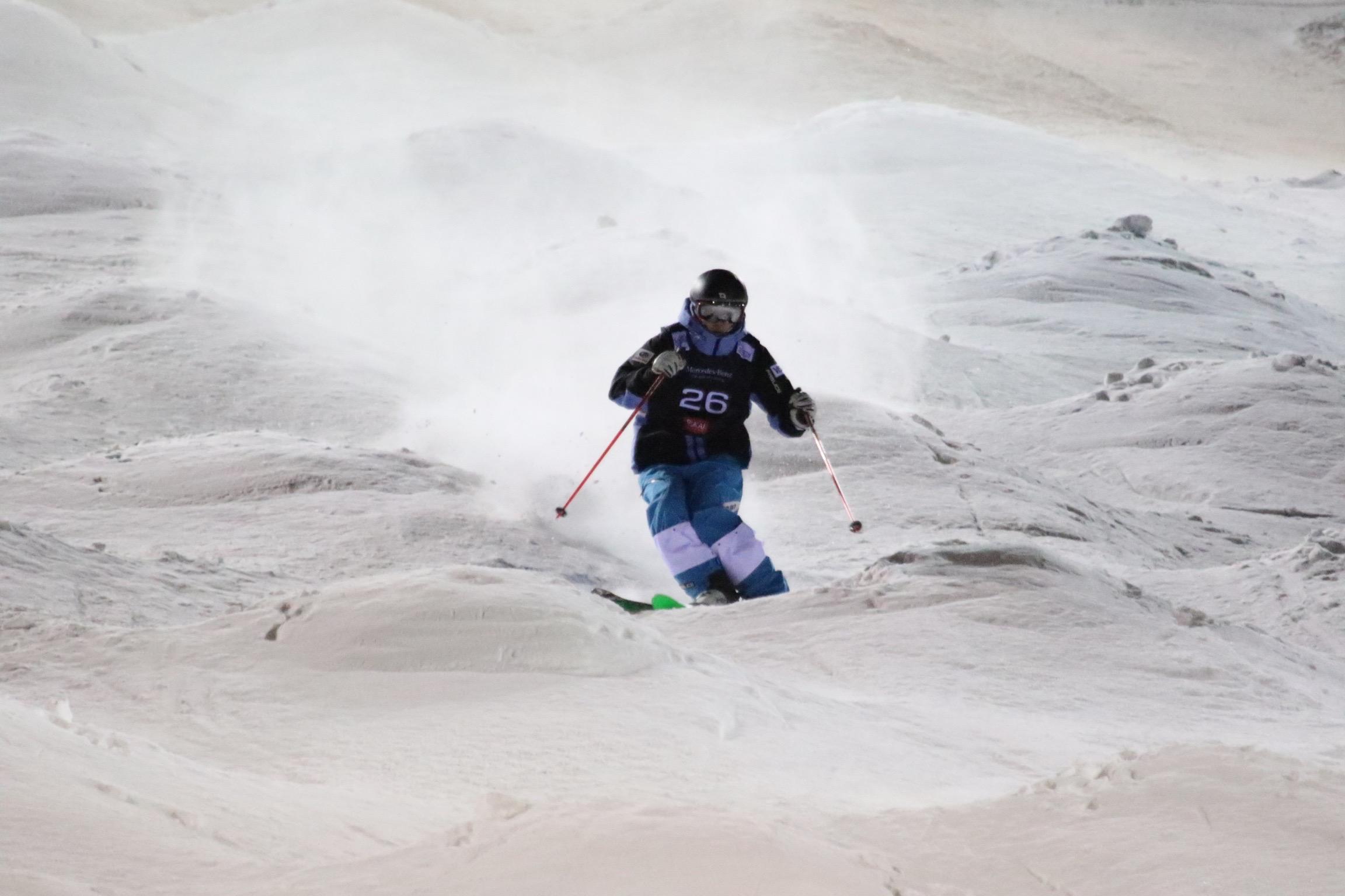 杉本選手の滑り