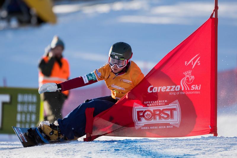 FIS Snowboard World Cup - Carezza ITA - PGS - TAKEUCHI Tomoka JPN © Miha Matavz