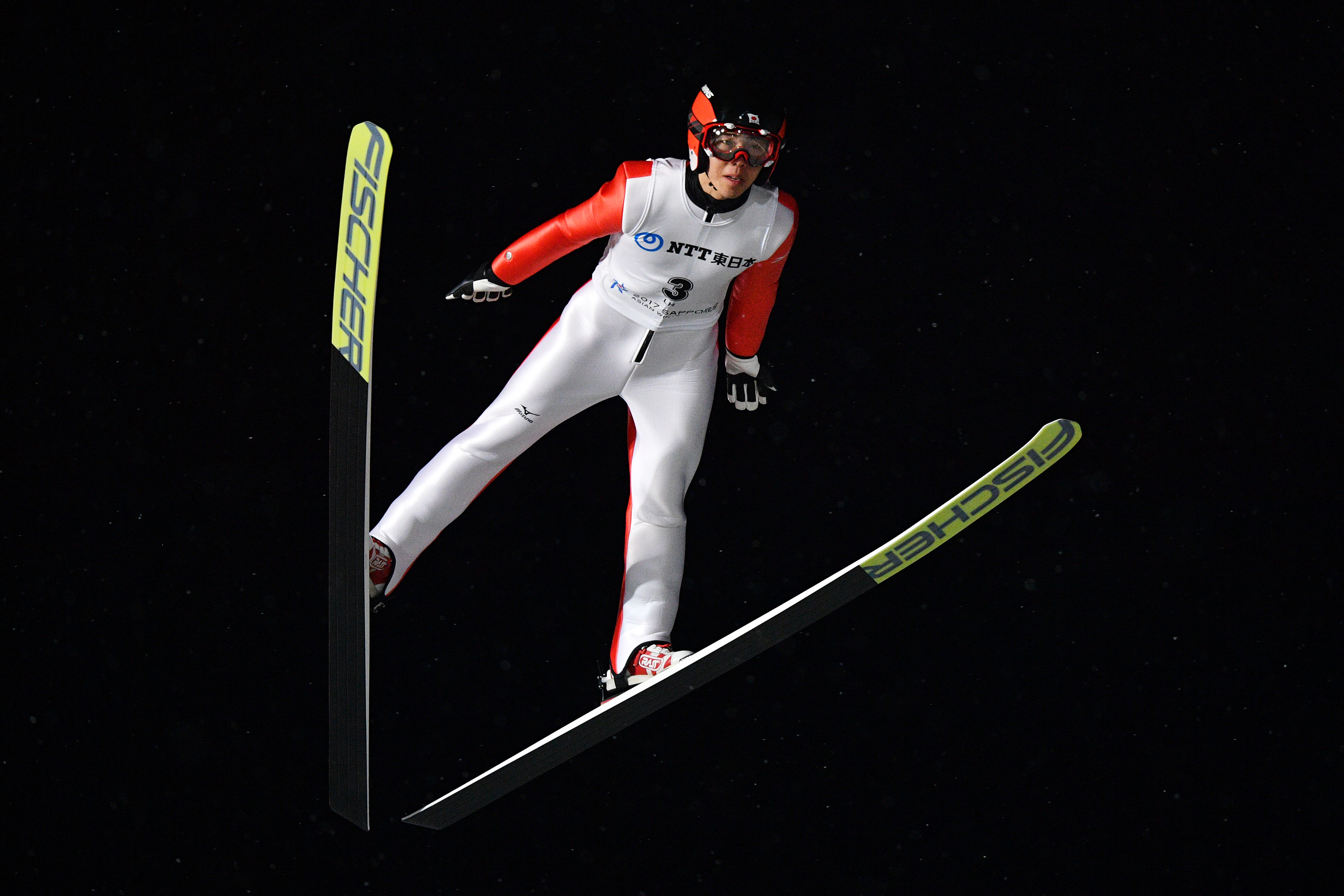 '†'º'¼Š²/Naoki Nakamura (JPN),  FEBRUARY 24, 2017 - Ski Jumping :  Individual Large Hill  during the 2017 Sapporo Asian Winter Games  at Sapporo Dome in Hokkaido, Japan.  (Photo by AFLO SPORT)