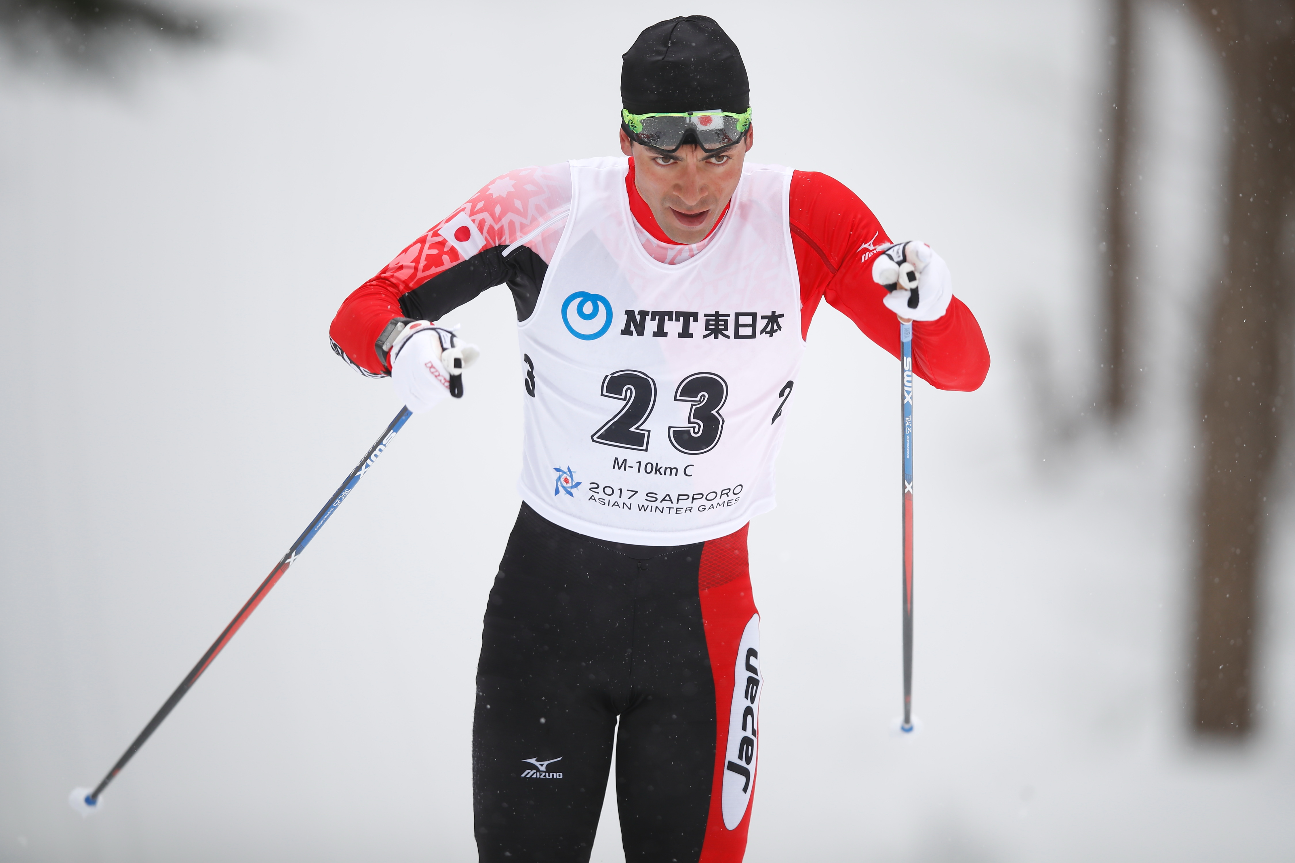"ƒŒƒ""ƒeƒBƒ""ƒO—z/Akira Lenting (JPN),  FEBRUARY 23, 2017 - Cross Country Skiing :  Men's 10km Classical  during the 2017 Sapporo Asian Winter Games  at Shirahatayama Open Stadium in Hokkaido, Japan. (Photo by Sho Tamura/AFLO SPORT)"