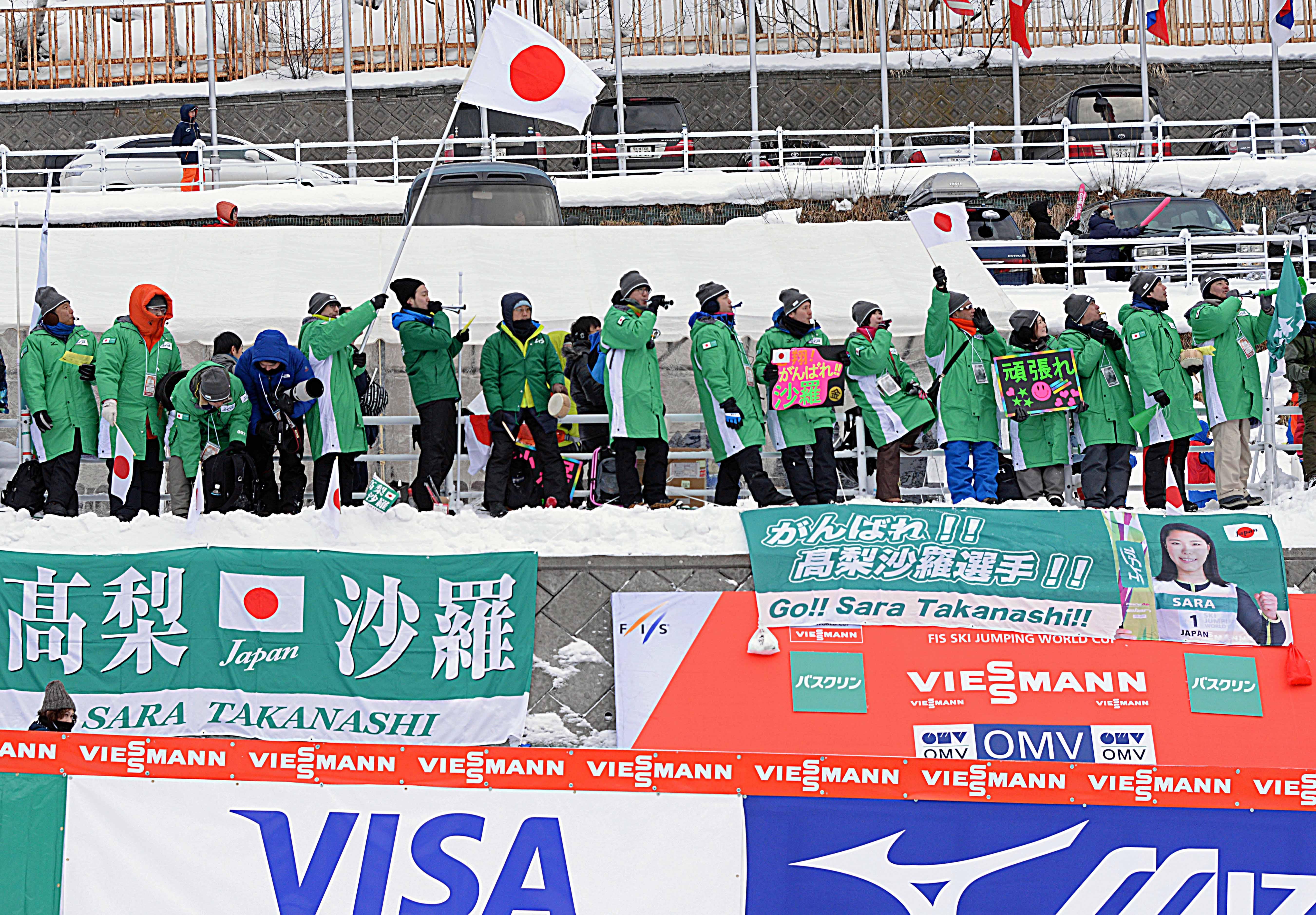 186札幌W杯チームJPNの応援団iwase