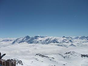 3300メートルからの雲海