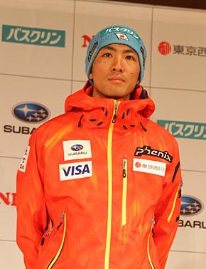 コンバインド・渡部暁斗選手(北野建設スキークラブ)