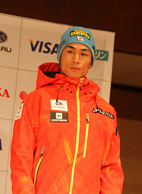 アルペン・湯淺直樹選手(スポーツアルペンスキークラブ)