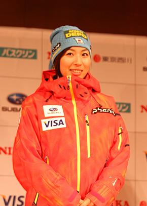 フリースタイルモーグル・伊藤みき選手(北野建設スキークラブ)