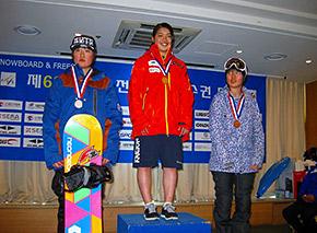 女子優勝の浅谷選手