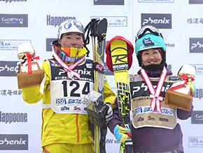 優勝おめでとう! 井山選手、佐藤選手(閉会式)