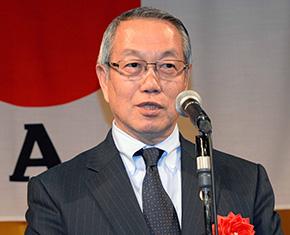 来賓 独立行政法人日本スポーツ振興センター理事長 河野一郎様