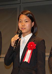 日本体育大学へ進学、ちょっぴり大人のヘアースタイルでイメージチェンジ