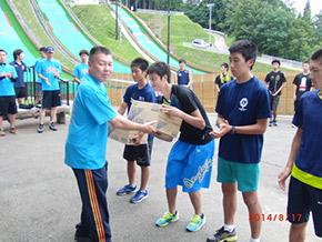 特別賞、秋田ダイドー賞を受賞した選手