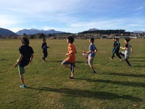 旭コーチによるコンディショニングトレーニング