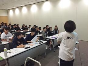 JISS近藤氏による栄養講習