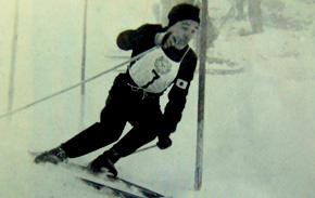 1本目の素晴らしい猪谷の滑り。6位につけ十分メダルを狙える位置につけた